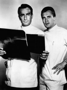 Drs. Steve Hardy and Phil Hardy of General Hospital